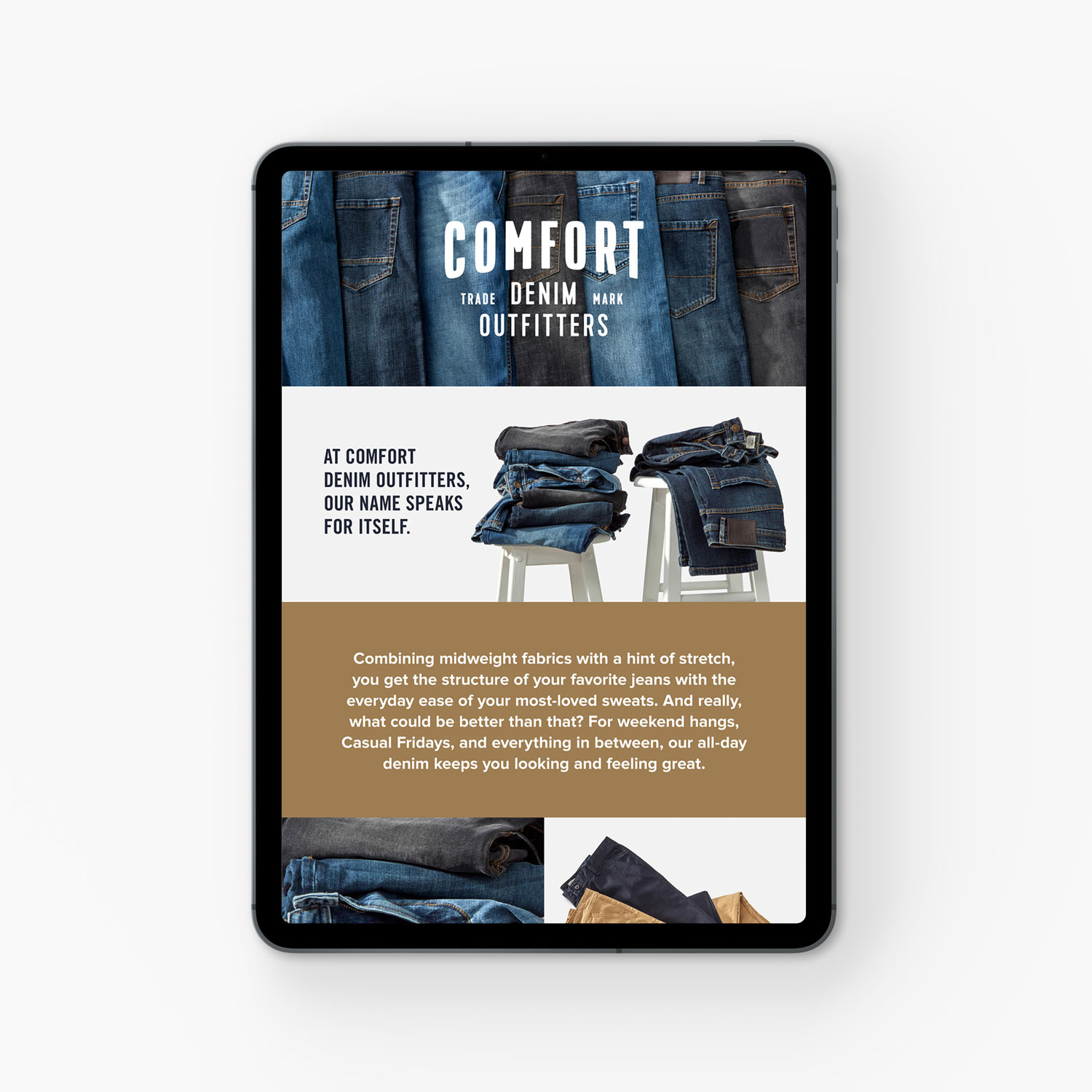 Amazon Comfort Denim Outfitters