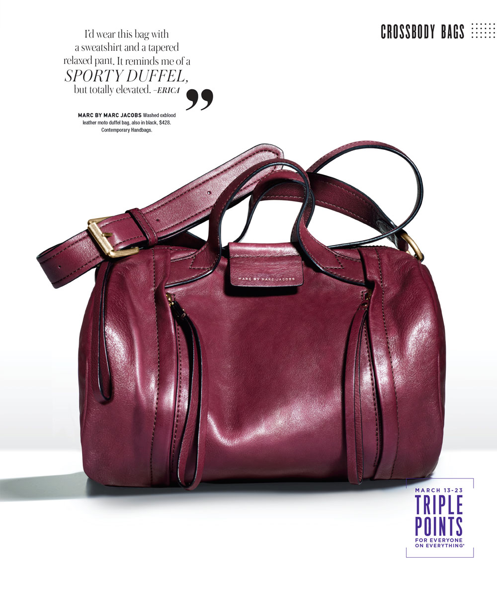 Bloomingdale's Catalog Marc by Marc Jacobs Duffle Bag