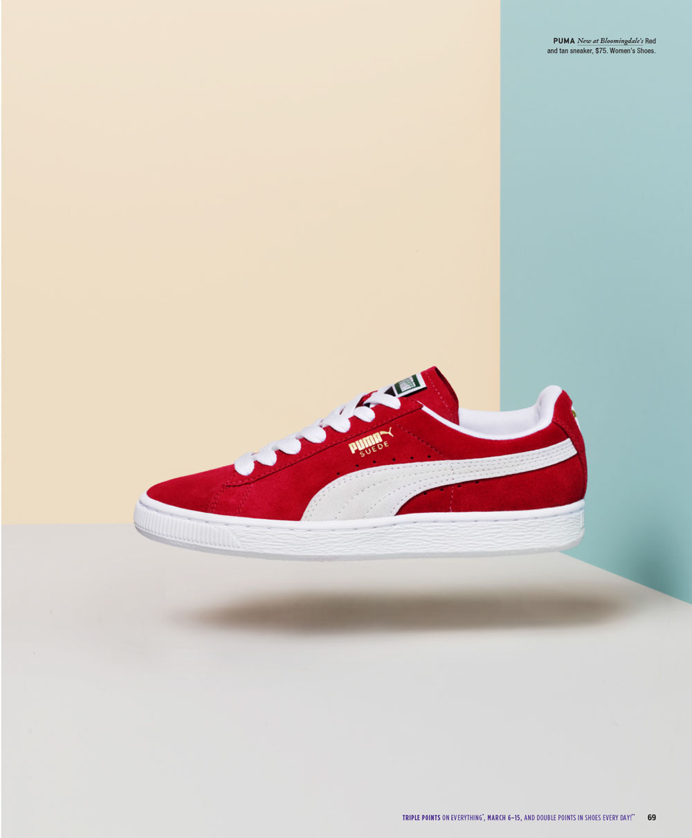 Bloomingdale's Catalog Puma Sneaker