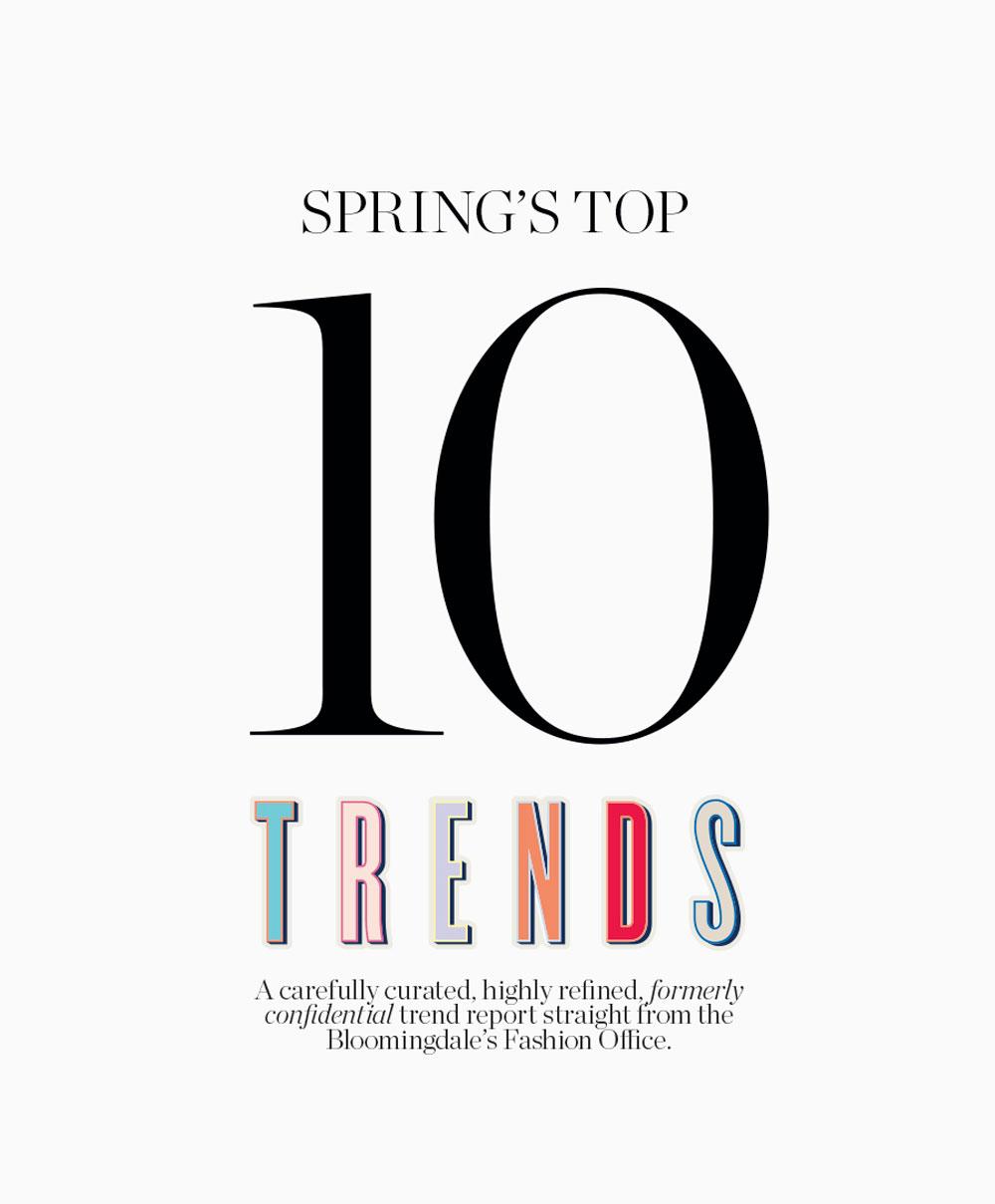 Bloomingdale's Catalog Top Trends Spring 2016