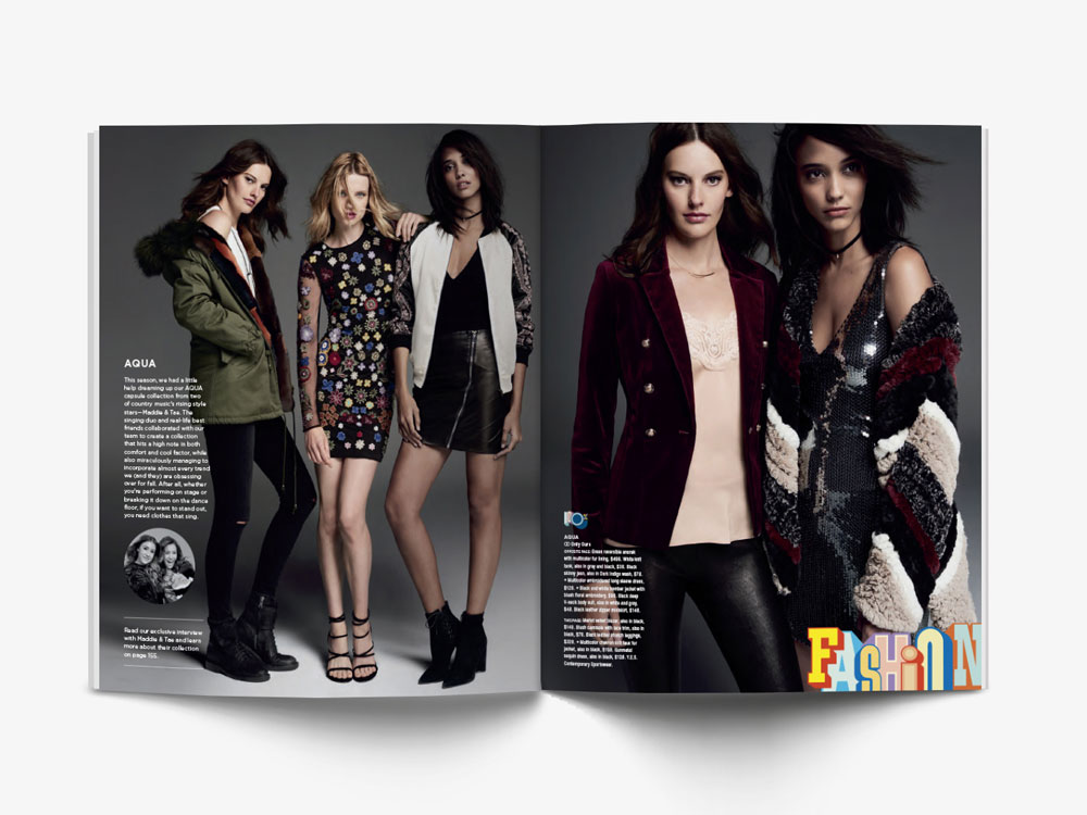 Bloomingdale's Catalog Fall Campaign 2016