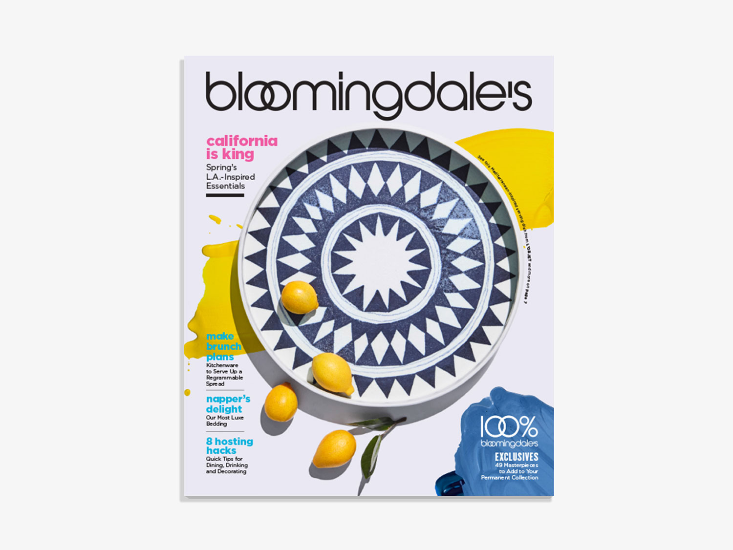 Bloomingdale's Home Catalog Spring 2017