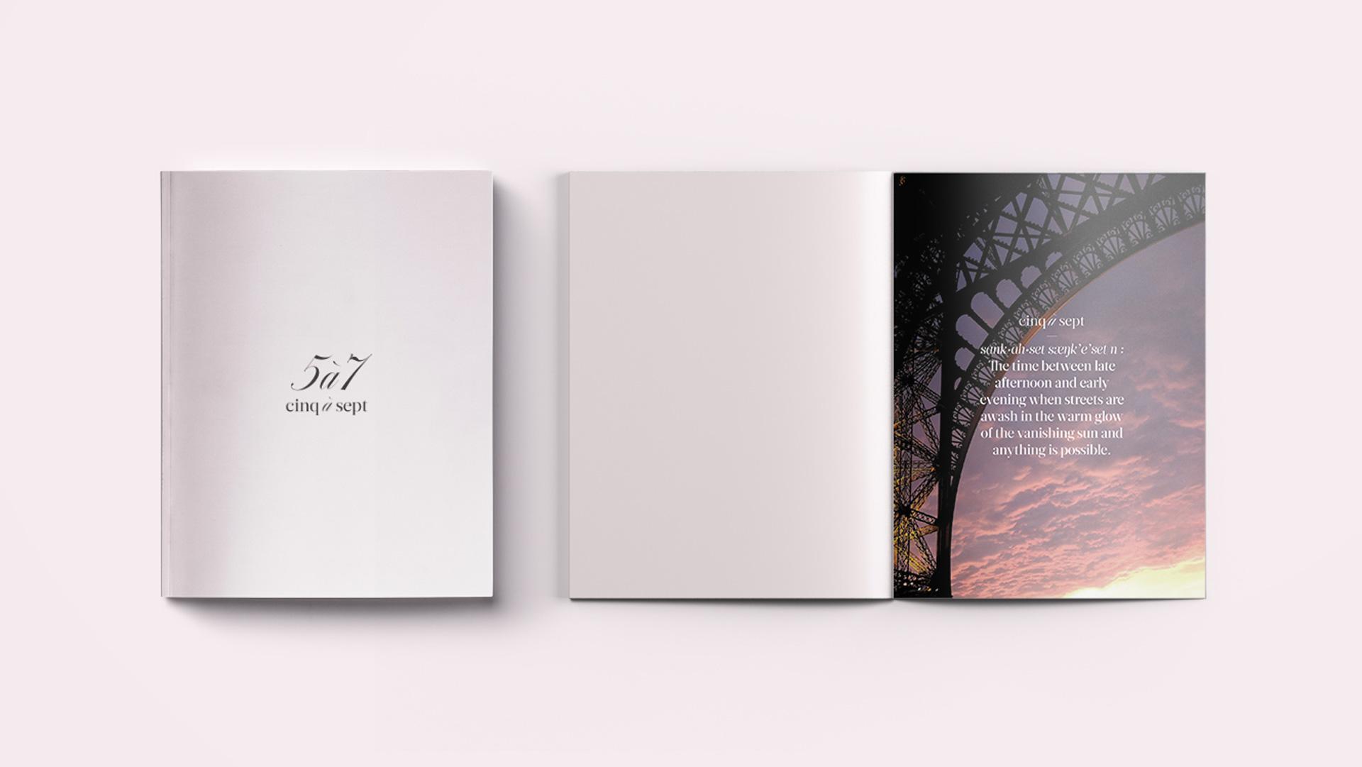 Cinq a Sept Brand Book