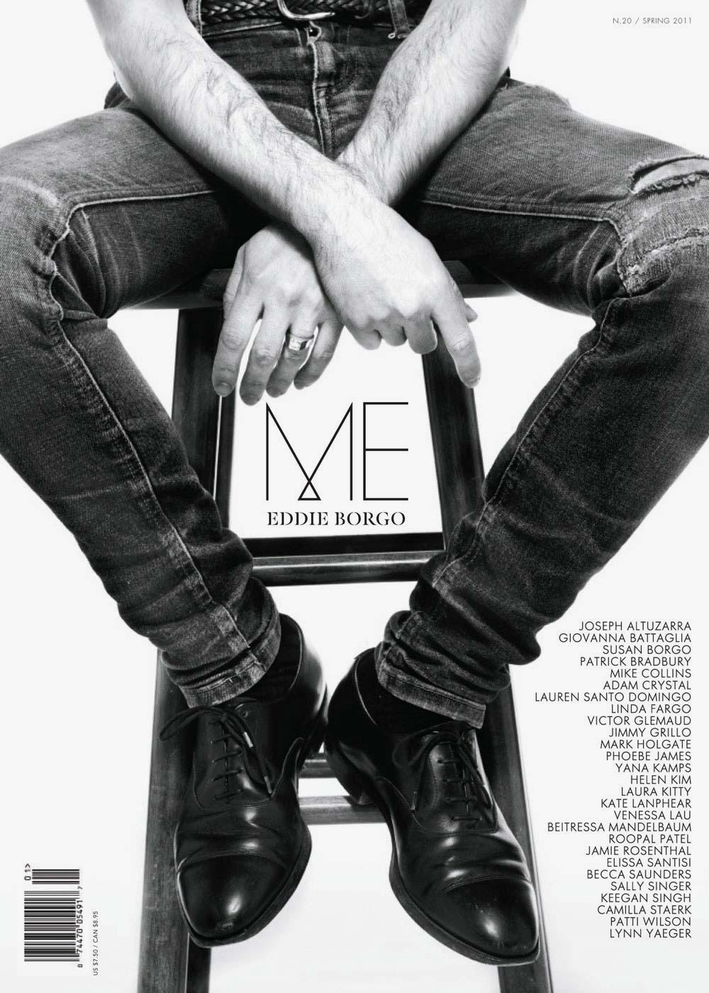 Me Magazine Eddie Borgo Issue Cover