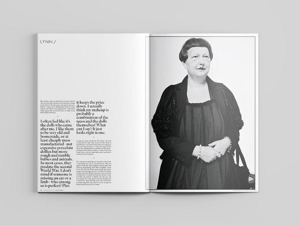 Me Magazine Lynn Yaeger