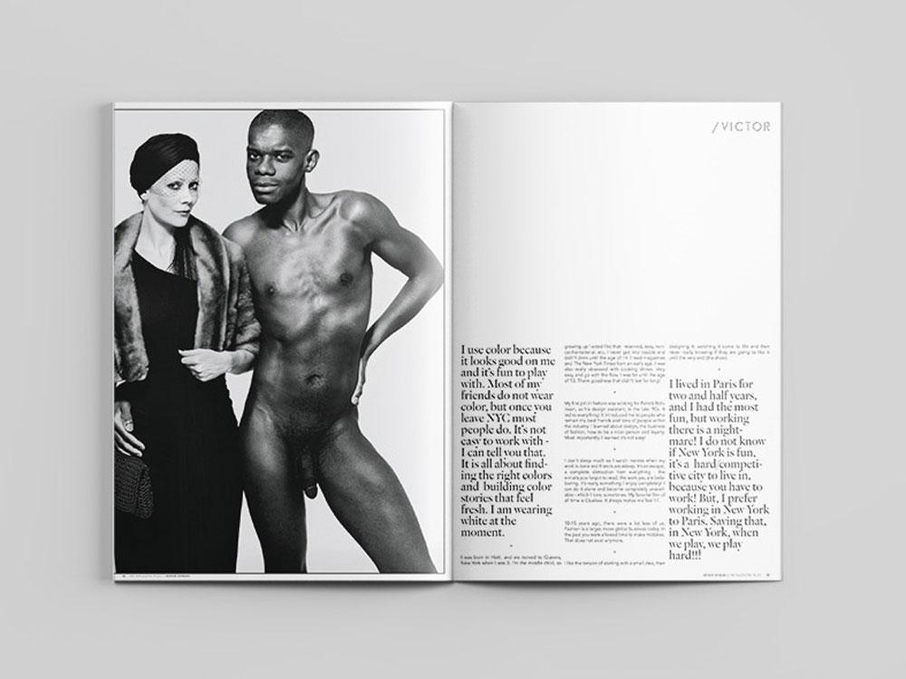 Me Magazine Victor Glemaud