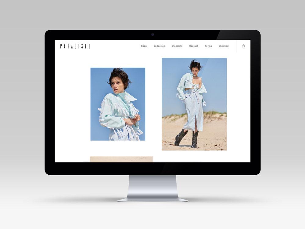 Paradised Website Design