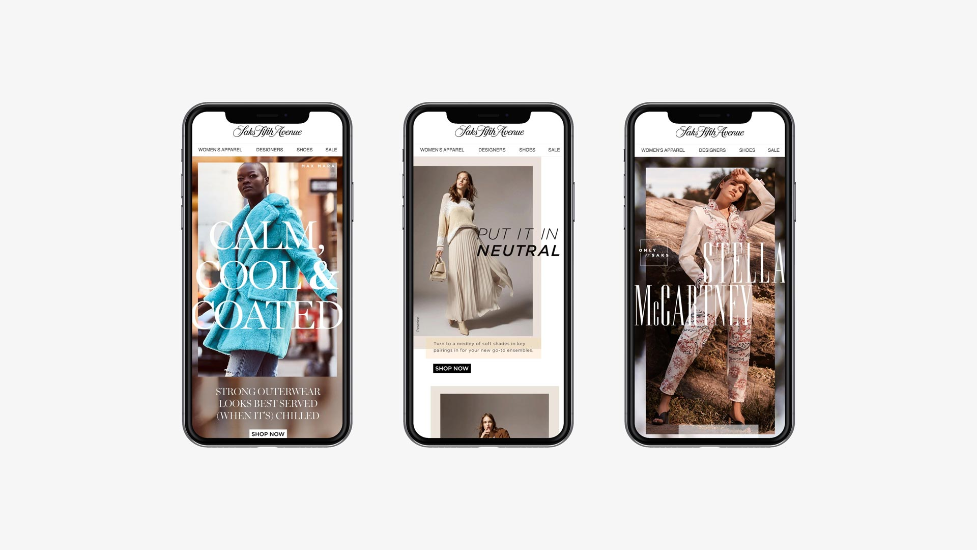 Saks Fifth Avenue Email Marketing