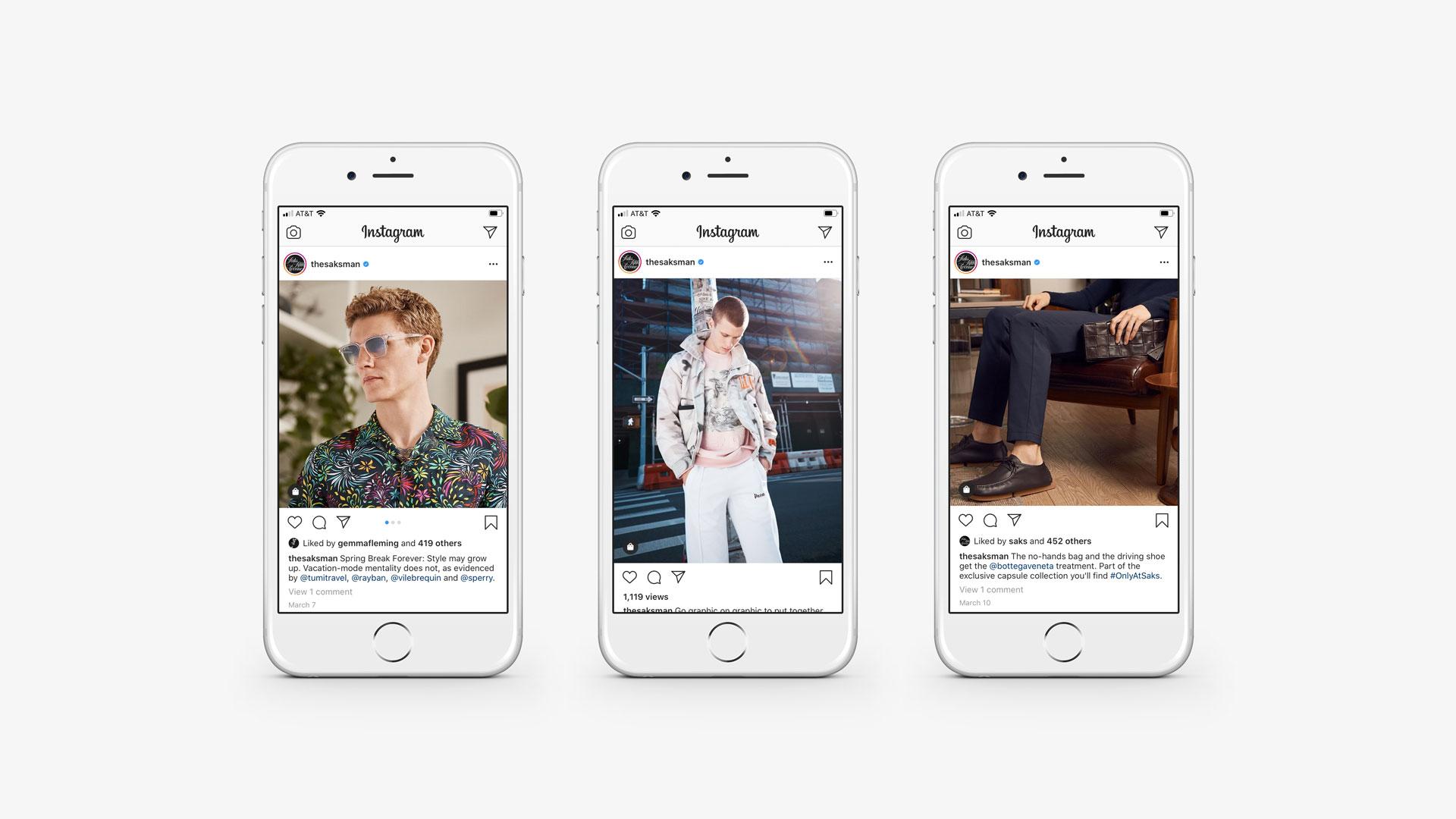 Saks Fifth Avenue Mens Instagram