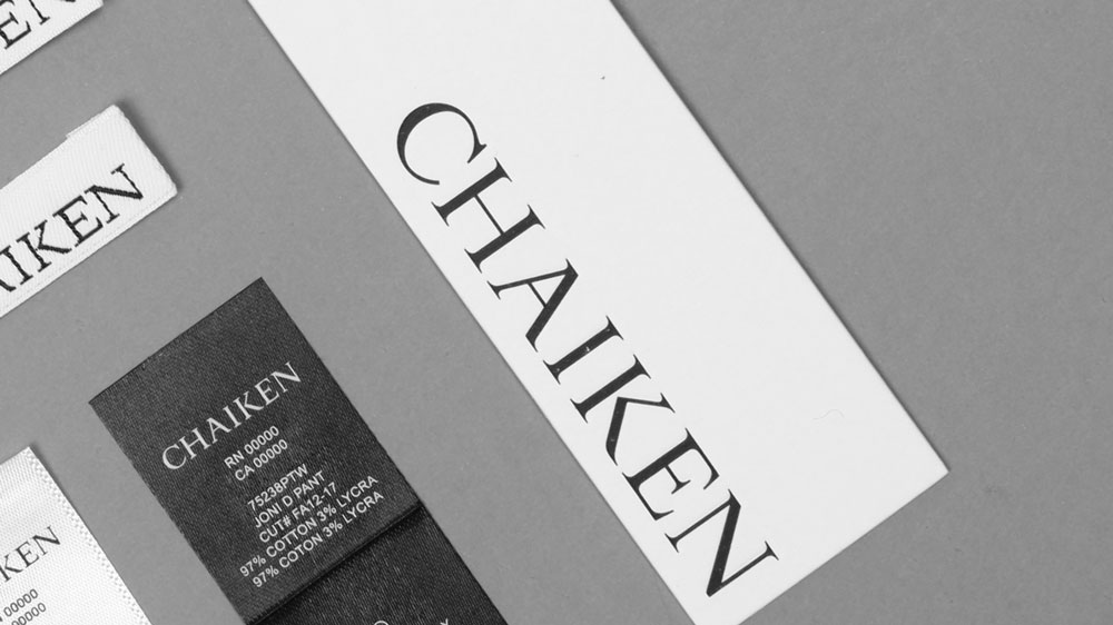 Chaiken Label Design