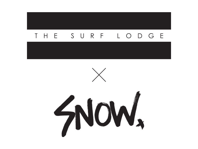 The Surf Lodge X Dash Snow Label Graphic