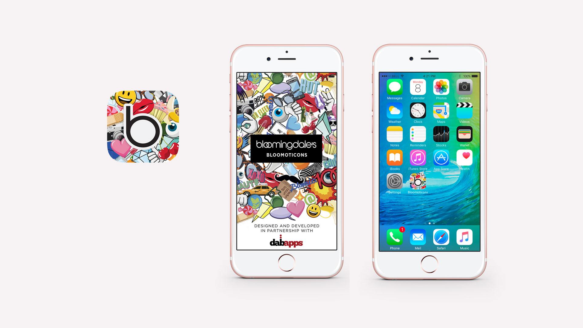 Bloomingdale's Bloomiticons App