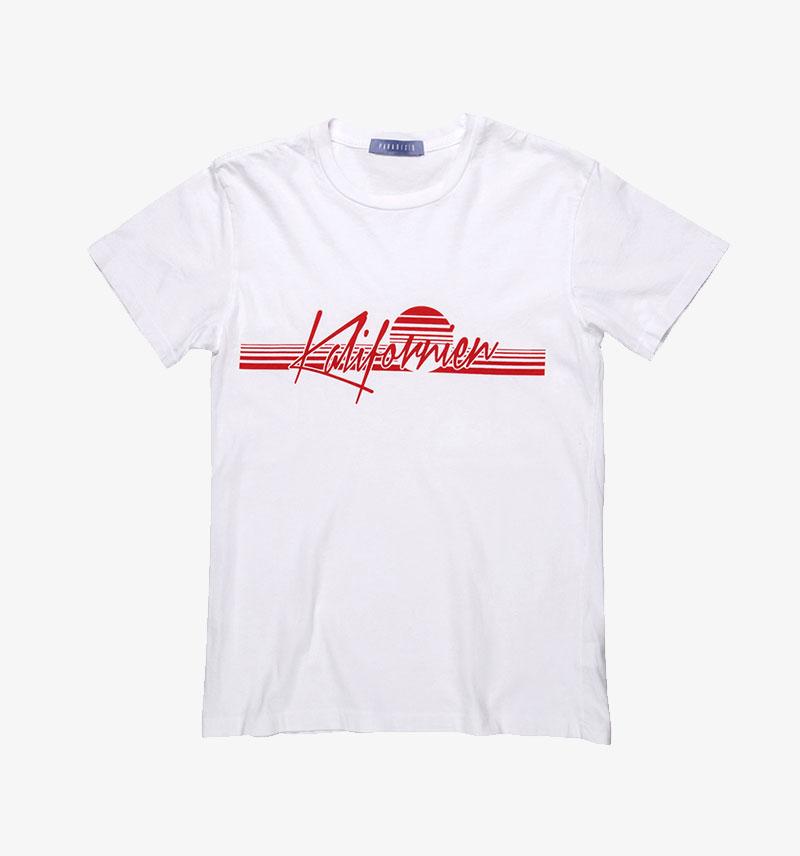Paradised Kalifornien T-shirt Graphic