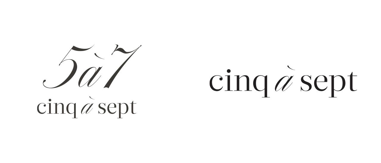 Cinq a Sept Logos