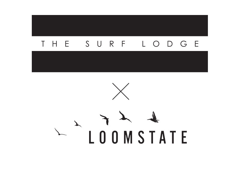 The Surf Lodge X Loomstate Label Graphic