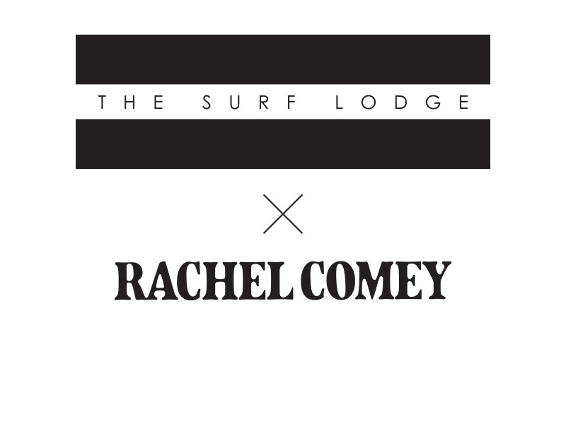 The Surf Lodge X Rachel Comey Label Graphic