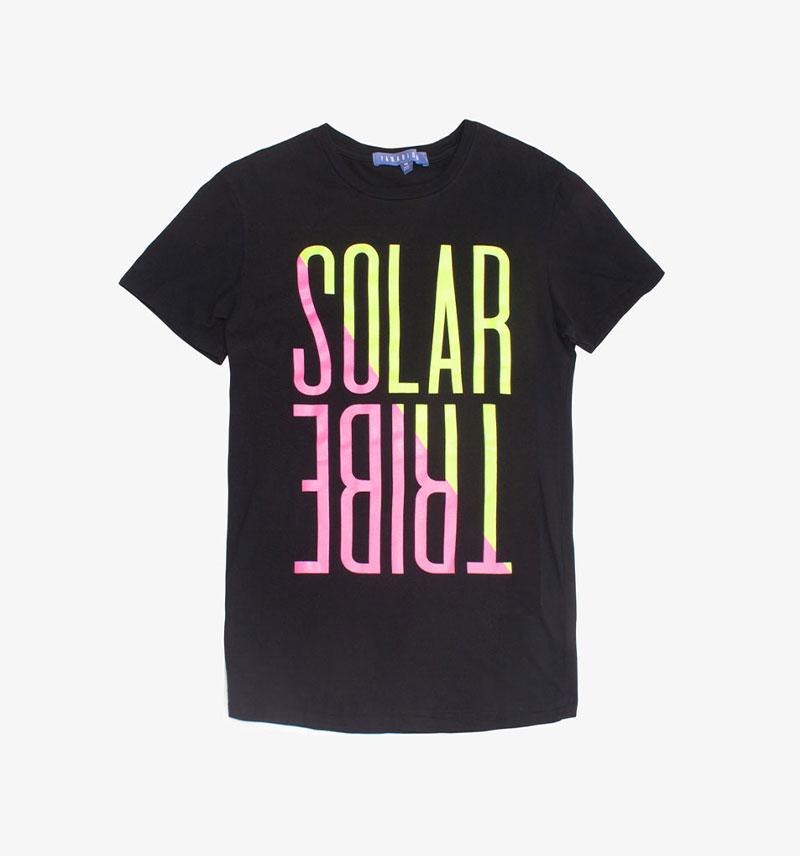 Paradised Solar Tribe T-shirt Graphic